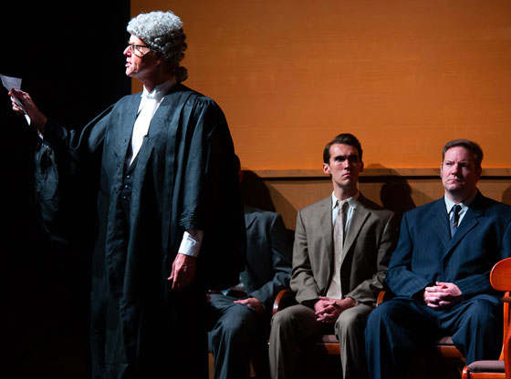 Rave review for WITNESS FOR THE PROSECUTION