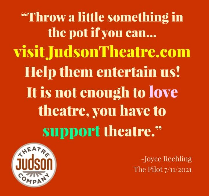 Call for support for JTC in The Pilot – DONATE TODAY!